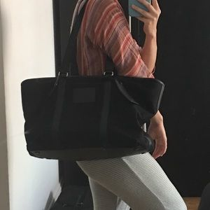 Coach oversized Barack canvas and leather bag